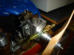 nieuwe cilinder liner for Holly Buddy 2,5 cc model diesel engine 008.JPG