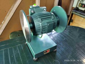 Disk Sander 200 мм  + Bench Grinder Nestor Makhno   _ 025.jpg