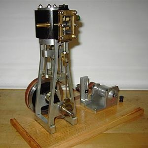 1.5x1.5V Steam Engine
