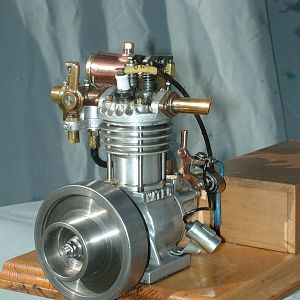 10 CC four stroke engine