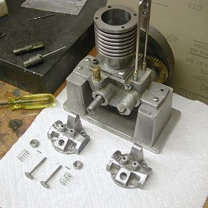 Midget Gas Engine model