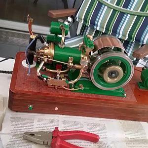 H&M 20CC engine ansicht links