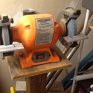 Improved harbor freight grinder