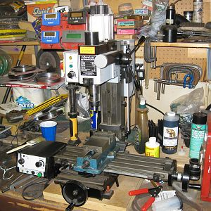 Mark's Shop and Machine Tools