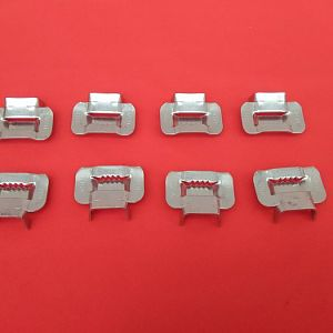 Stainless Steel Banding Buckles, Banding Clip