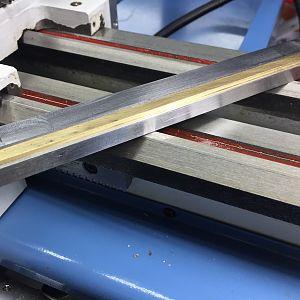 SC4 lathe tapered Gib & Gib plate