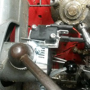Prototype Clutch Lever Switch