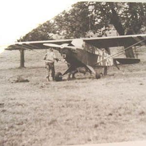 WW2 Cub in Belgium 1944
