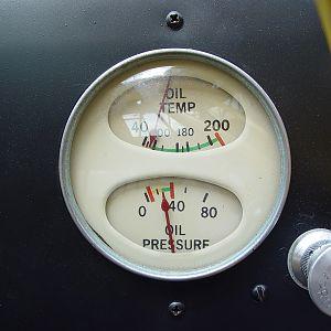 247 Oil Temp Pressure
