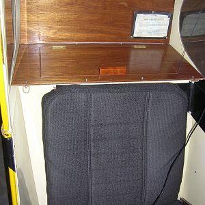 PA11 Rear seat squared off like a Super Cub