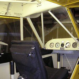 PA11 Front cockpit
