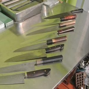 knives and gear
