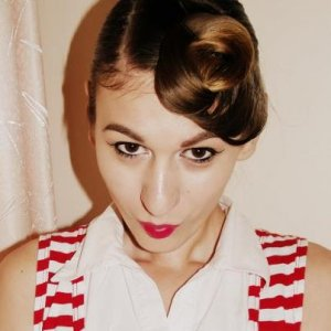 1950's pin up look