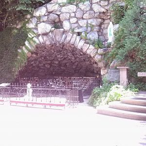 The Grotto at Notre Dame