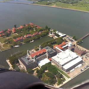 Hudson River Ellis Island