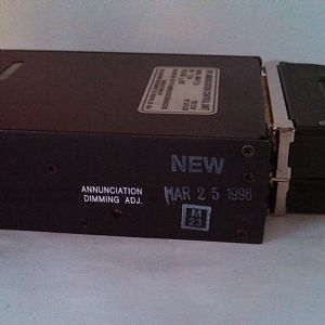 GPS Annunciation Control Unit MD41-724