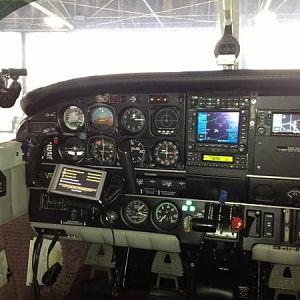 Pilot side panel