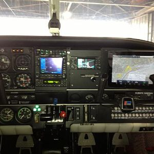 Co-pilot side panel