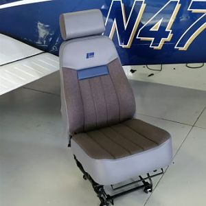 Custom seats w/ pneumatic adj.