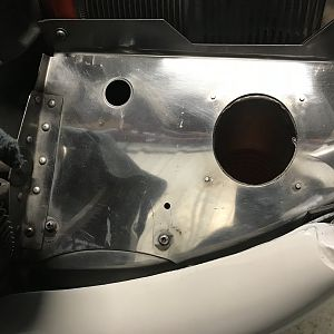 Hand polished inlet