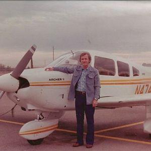 Dad - proud owner 1981