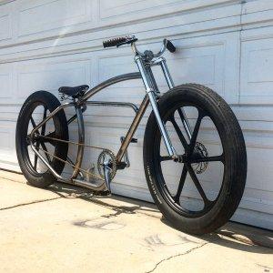 Imperial X Peek cycles frame build