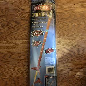 Estes Comanche-3 Front