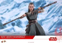 The Last Jedi REY Figure 1//6th Scale HANDS #3 Hot Toys MMS446 Star Wars