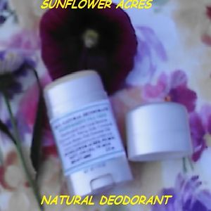 Natural Herbal Deodorant in dial up tube