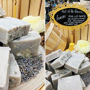 Lavender Hot Process Soap
