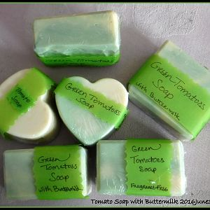 Green Tomatoes Soap - 2016June30