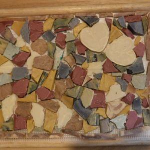Dad's Flagstone Patio - Mosaic Soap - 2016June19