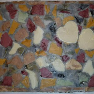 Dad's Flagstone Patio - Mosaic Soap - 2016June19