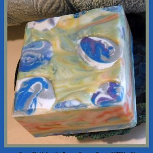 Faux Fluid Acrylic Soap for SMF Challenge May 2017