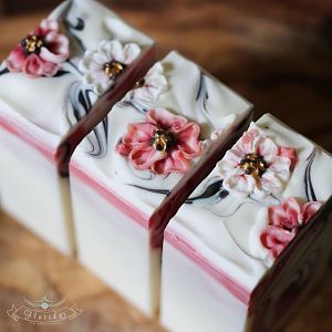 Handmade In Florida Cherry Blossum Soap