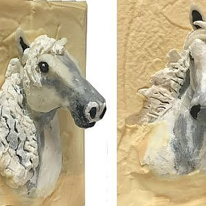 "Making ""White Horse"" Cold Process Soap Art - YouTube"
