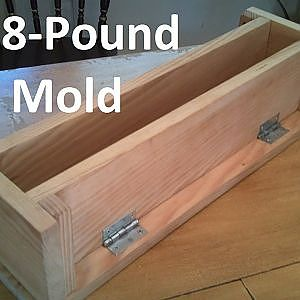How to Build an Easy 8-Pound Soap Mold for Soapmaking - YouTube