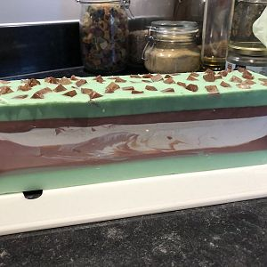 Mint Chocolate Chip Soap UnCut