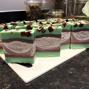 Mint Chocolate Chip Cut