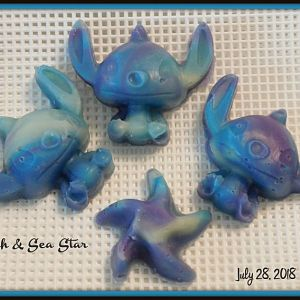 Stitch And SeaStar 2018July28