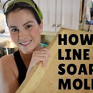 How I Line my Soap Molds - For Cold Processed Soaps - YouTube