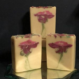 Secret Swirl Rose Soap