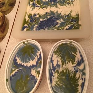 Favorite Colors Swirled Soap