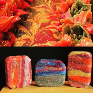 Felted Soap & Soap Top