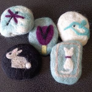 MarnieSoapien - Felted Soap 2019March