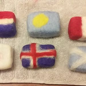 Primrose - Felted Soap 2019March