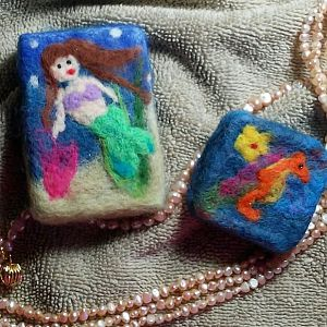 SunRiseArts - Felted Soap 2019March