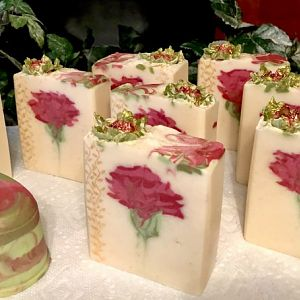 Secret Rose Soap w/bling!
