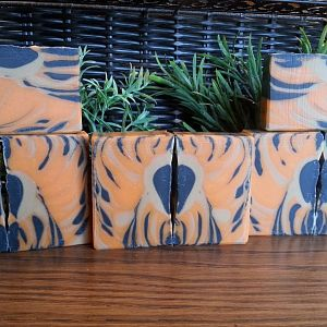 SMF Challenge May 2019 Tiger Stripes Marilyn Norgart