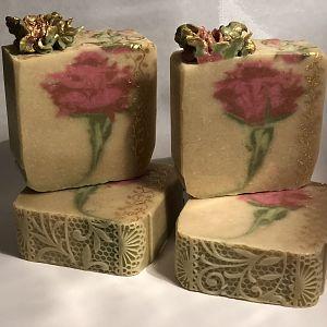 Roses w/ impression mat